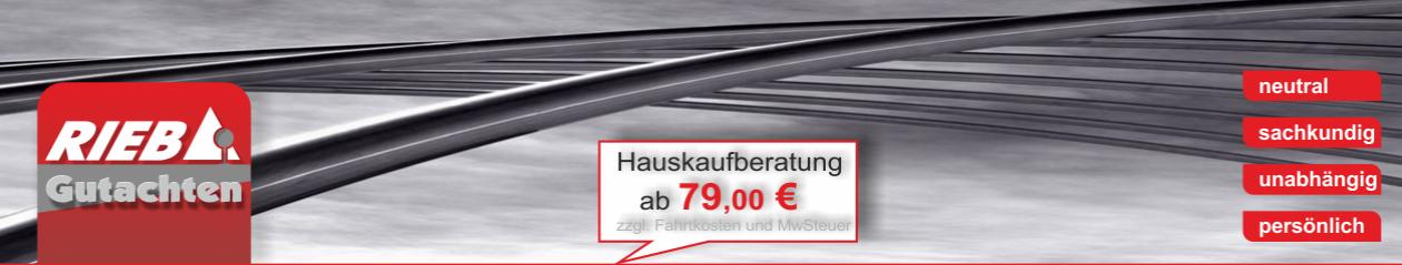 Gutachter Trier Bernkastel-Wittlich – Hauskaufberatung ab 79,00 €